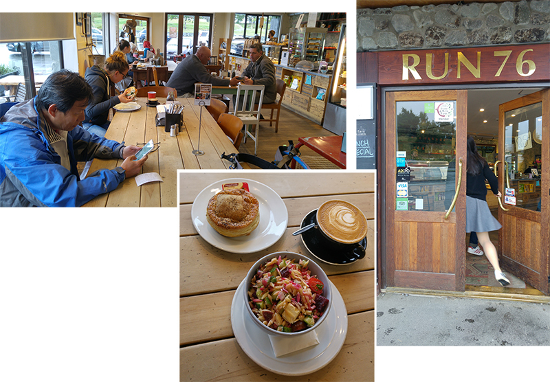 Breakfast at RUN 76 at Lake Tekapo Town