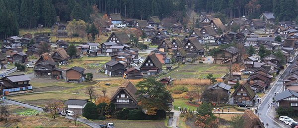 Ogimachi Village of Shirakawa-go