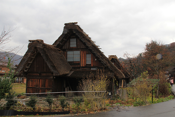 A rustic Gassho-Zukuri Traditional Farmhouse