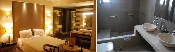 Beautiful room and bathroom