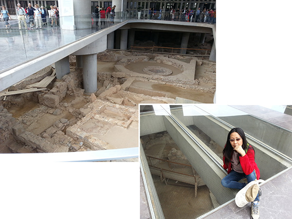 Museum over an ancient digs