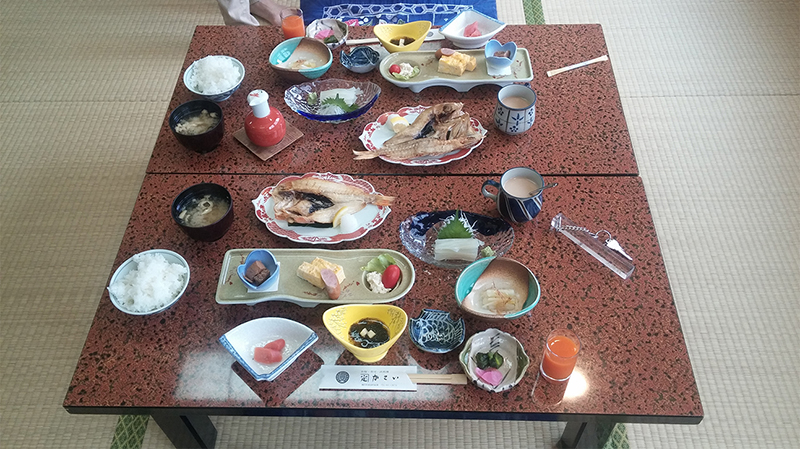 Breakfast at Oyado Kasai