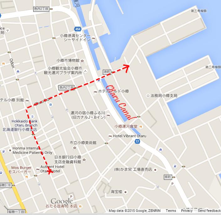 Festival Parade route