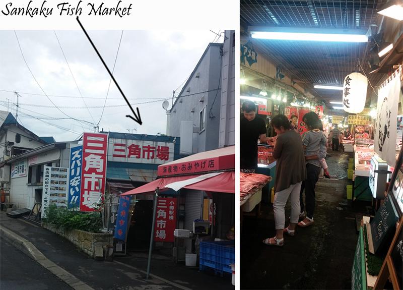 Fish Market Sankaku, Otaru