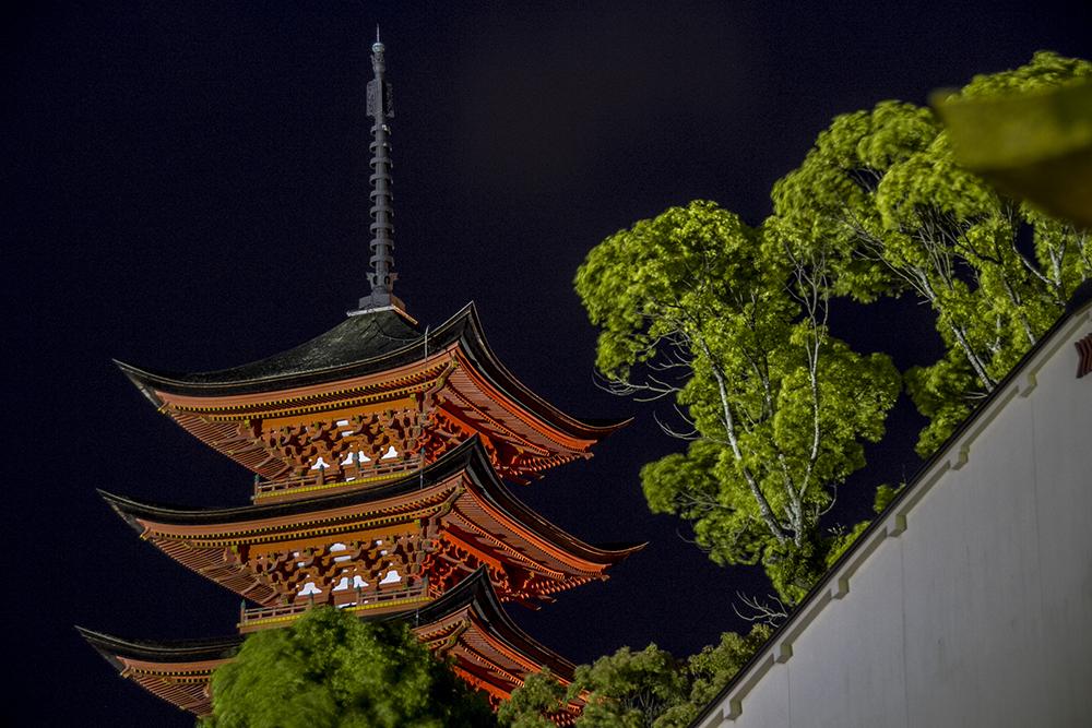 3-storey Pagoda of Itukushima Shrine, Miyajima