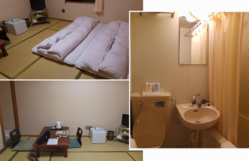 Room for 2 at Sakuraya Hotel