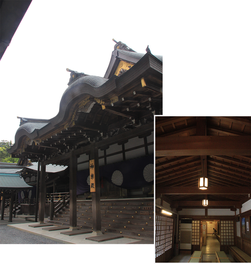 Internal of Kaguraden
