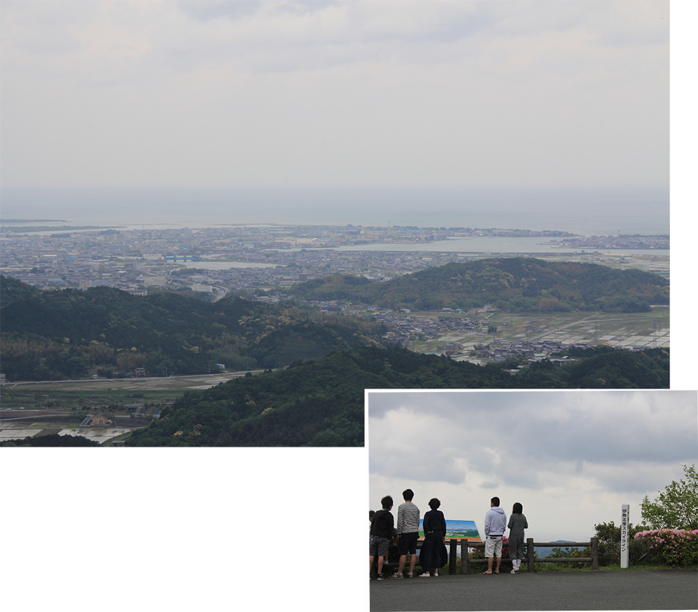 View of Toba Port from Mt Asamagatake