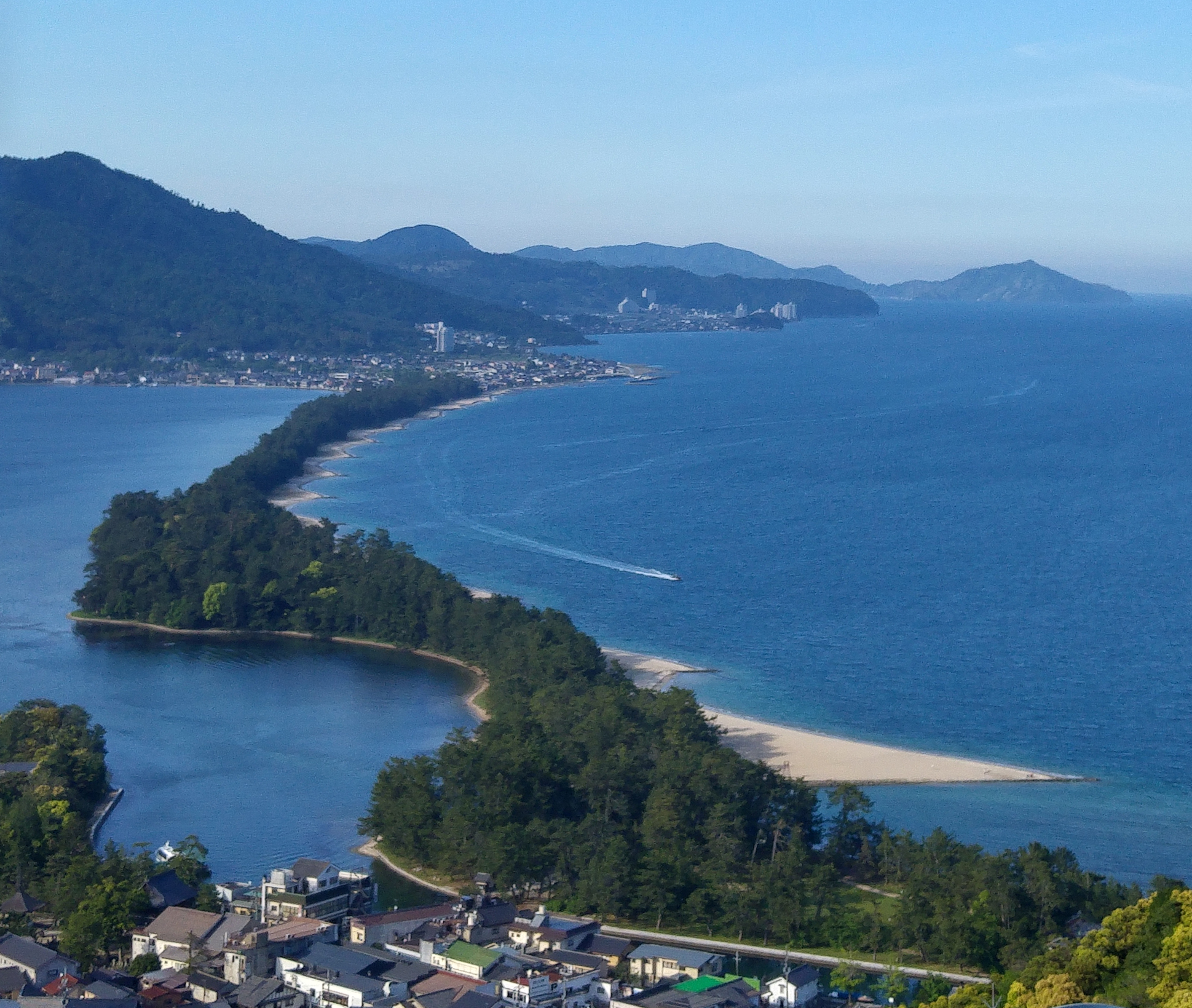 Amanohashidate (view from the southern side)