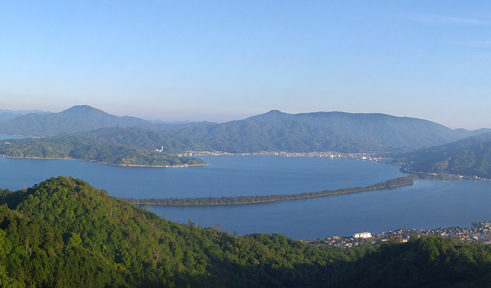 Amanohashidate view from the northern side