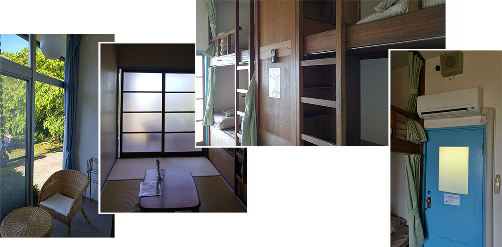 Our Room at Amanohashidate Youth Hostel