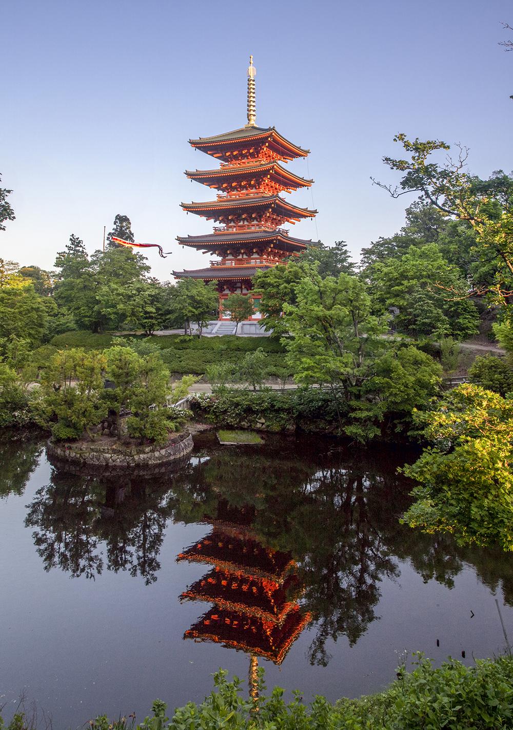 Pagoda at Narai-ji Temple