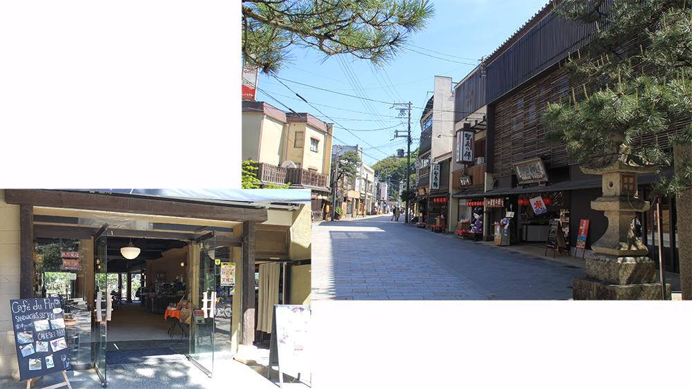 Shops & restaurants street