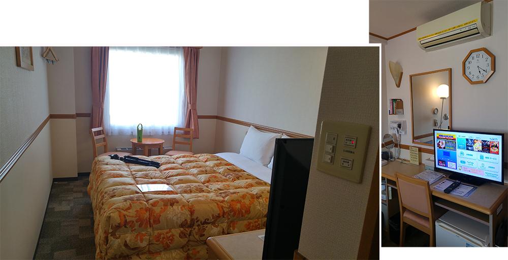 Toyoko Inn Hiroshima (¥ 8208)