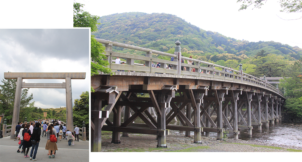 Uji Bridge over Isuzugawa River