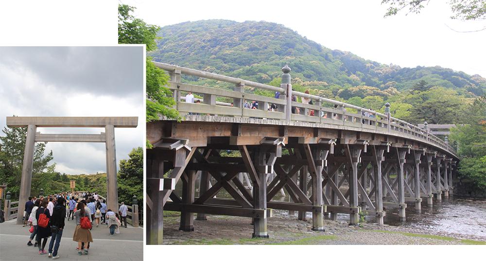 Uji Bridge over Isuzugawa River