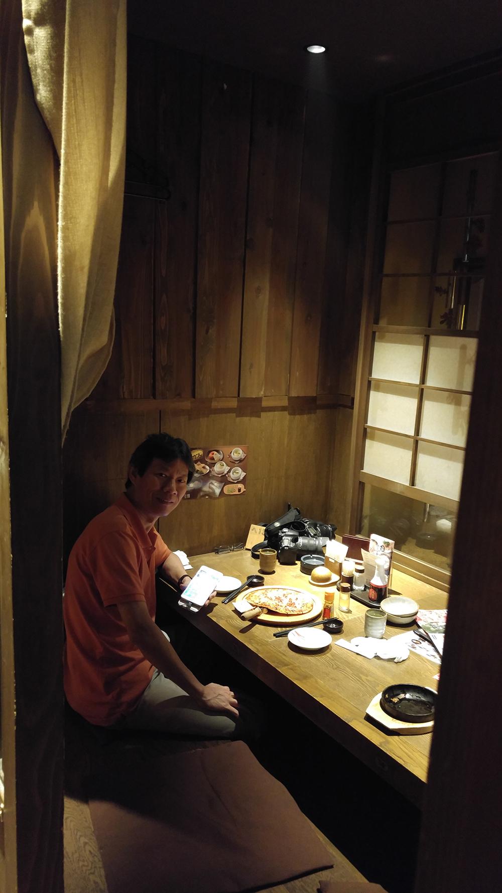 Dinner at Hamamatsu downtown