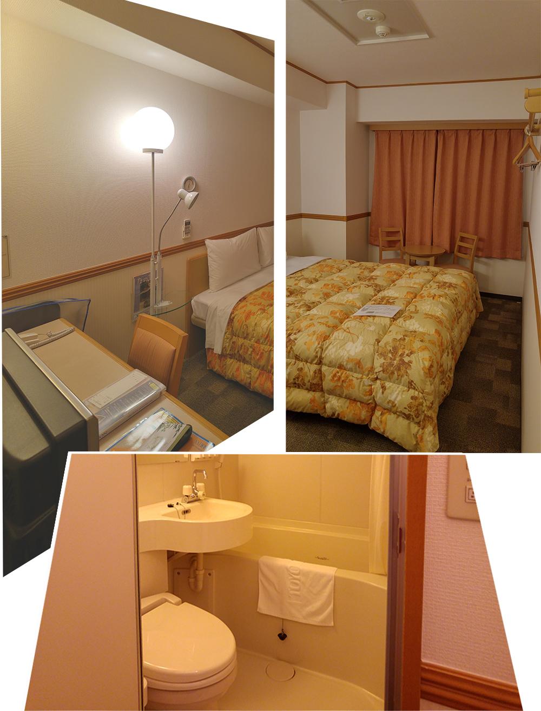 Double Room at Toyoko Inn Hamamatsu