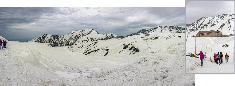 Tateyama Snow Mountain at Murodo