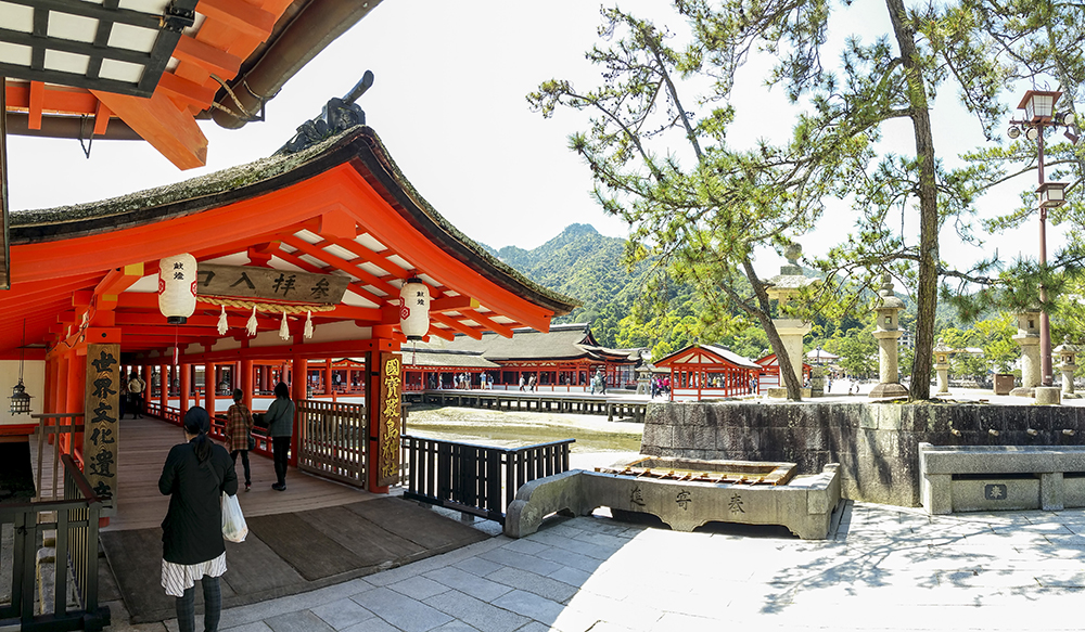 Entrance of Itsukushima Shrine