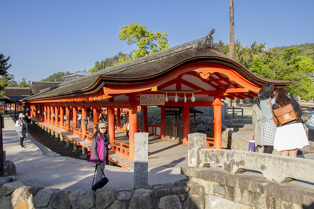 West Entrance of Itsukushima Shrine