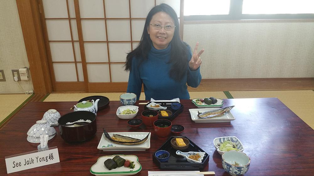 Breakfast at Iruka Onsen Hotel