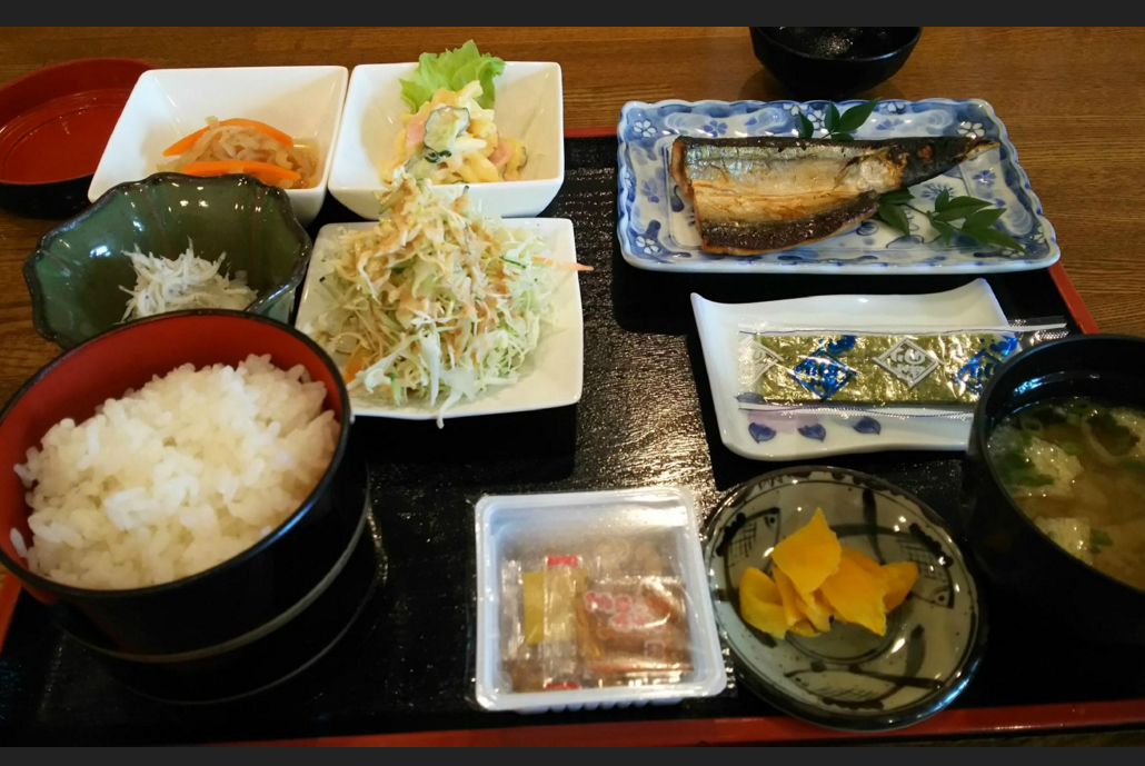 Breakfast at Hotel Kawakami