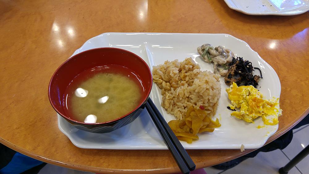 Free breakfast at Toyoko Inn Hamamatsu