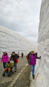 Snow Corridor at Mt Tateyama