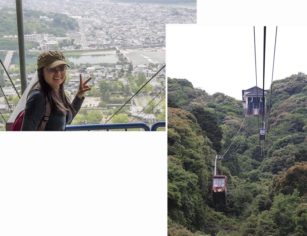 Rope way to Iwakuni Castle