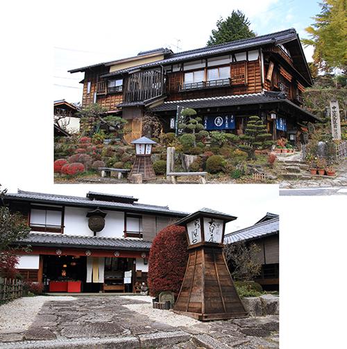 Well preserved Edo period Houses
