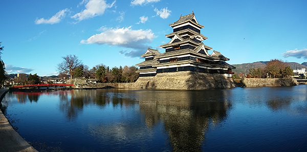 Matsumoto Castle (mapcode: 75 851 290*38)