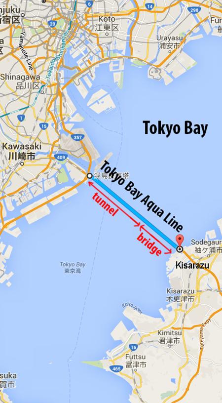 Crossing Tokyo Bay