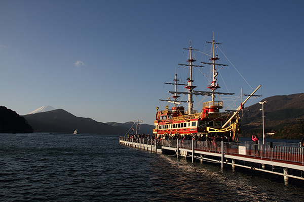 "Tourist 'Sightseeing Pirate"" ship"