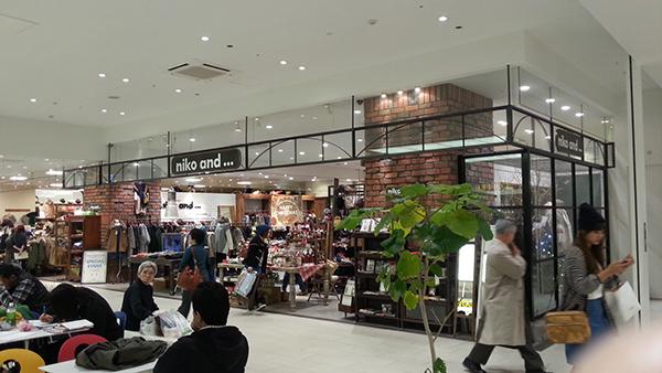 Inside Aeon Shopping complex