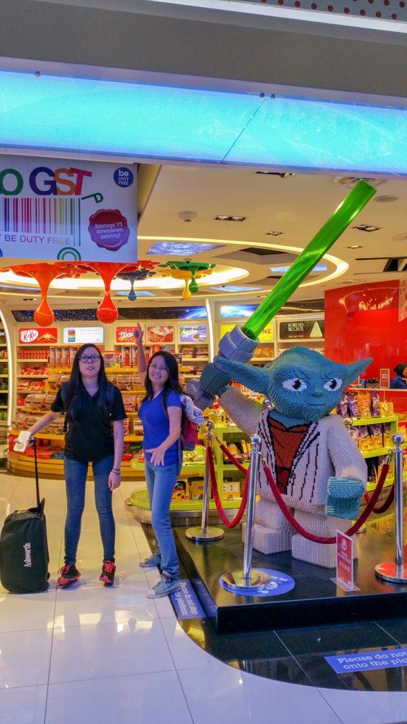 Shops in KLIA2 Transit Area