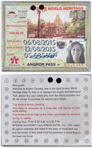 Photo ID ticket
