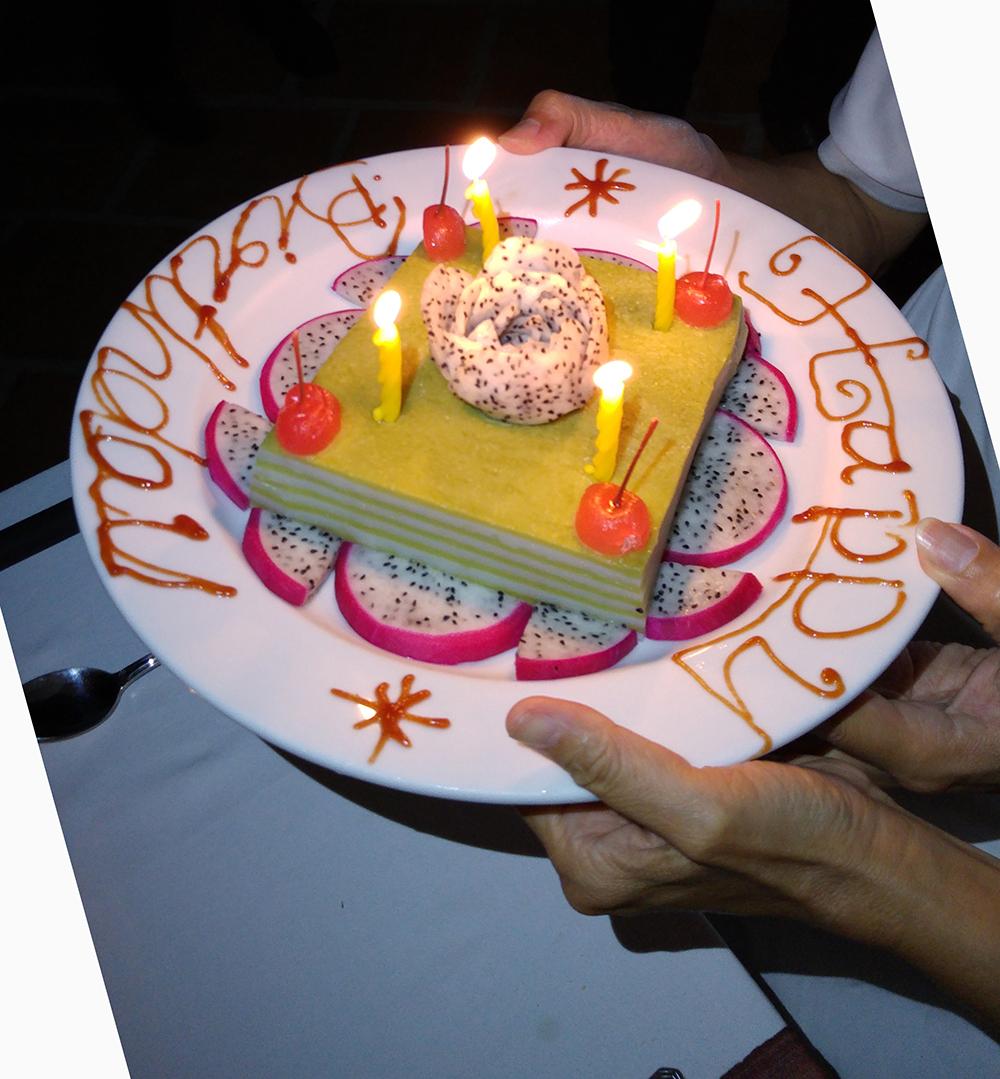 Yat Thong's Birthday Cake
