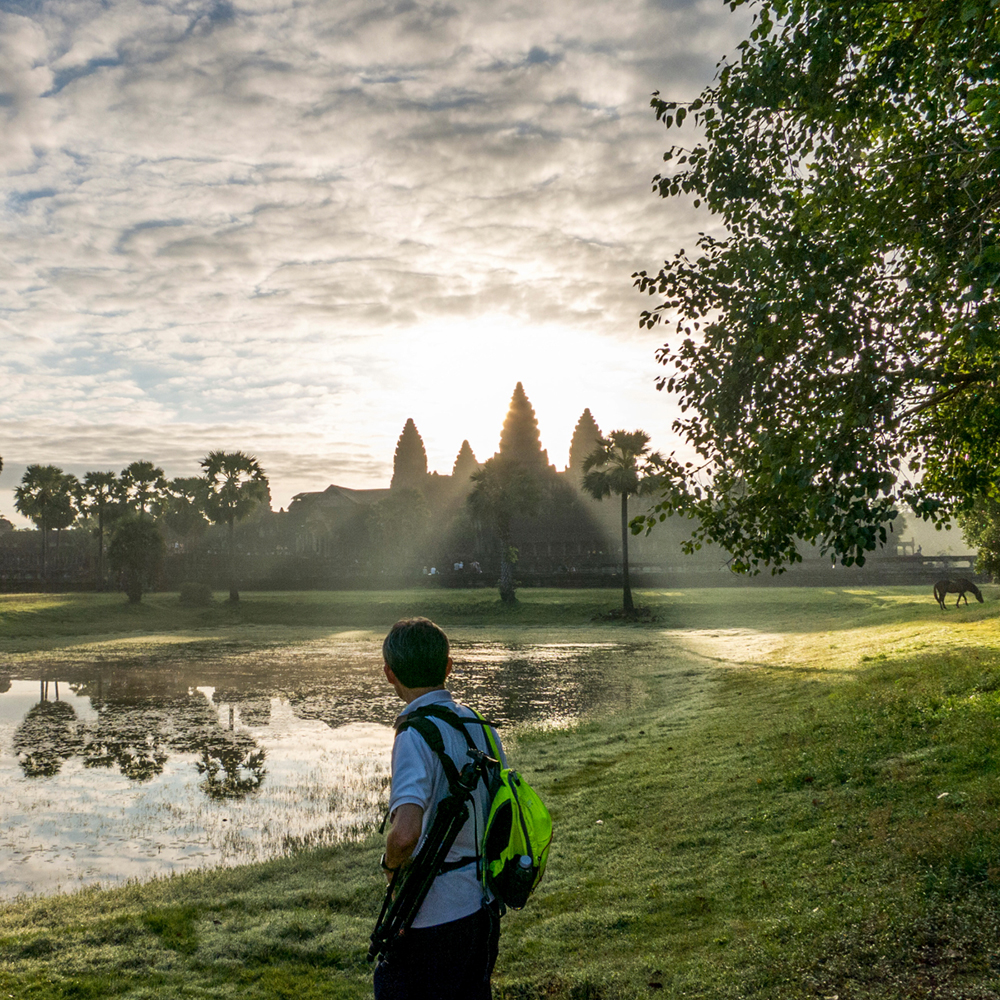 Angkor Wat Temple at 6am