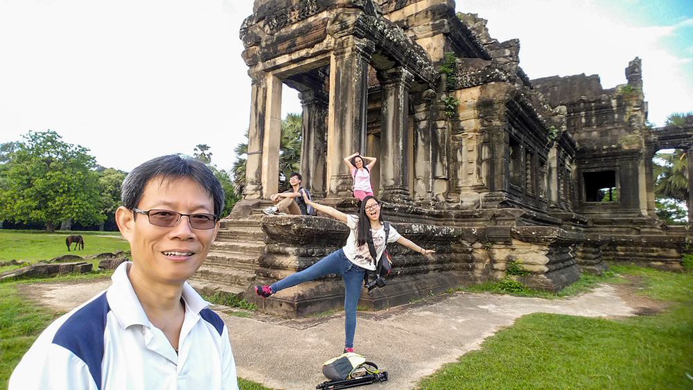 Angkor Wat Temple – Library