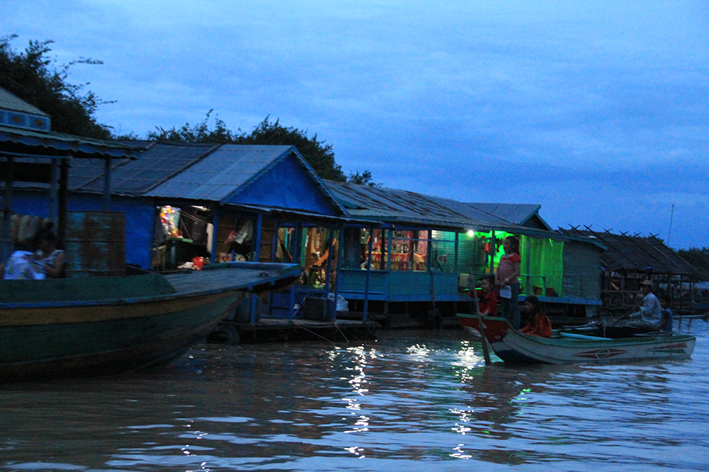 Floating Village (Evening Scene)