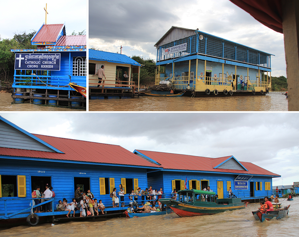 Floating Churches and Schools