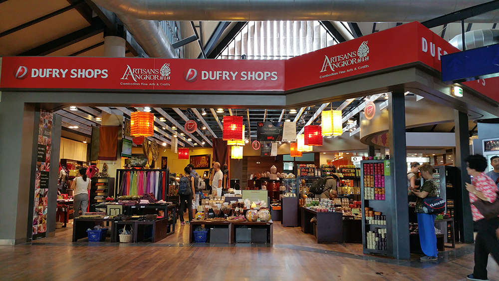 Duty free shop at Departure Hall – Siem Reap International Airport