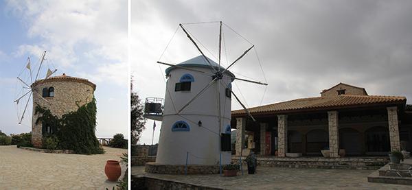 Windmills at BotamitisBro Cafe