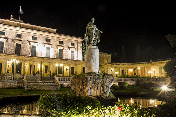 Royal Palace of Corfu (St Michele & St Giorgio Palace)