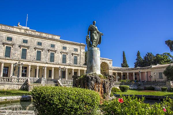 Corfu Royal Palace