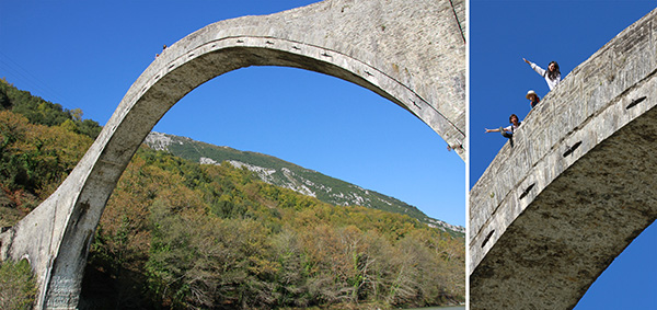 Largest Single span bridge in Greece