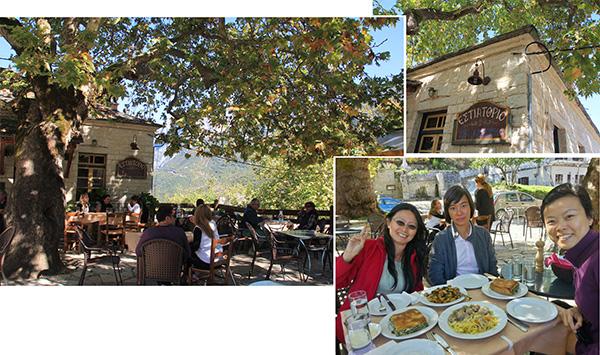 Lunch at Aristi Village