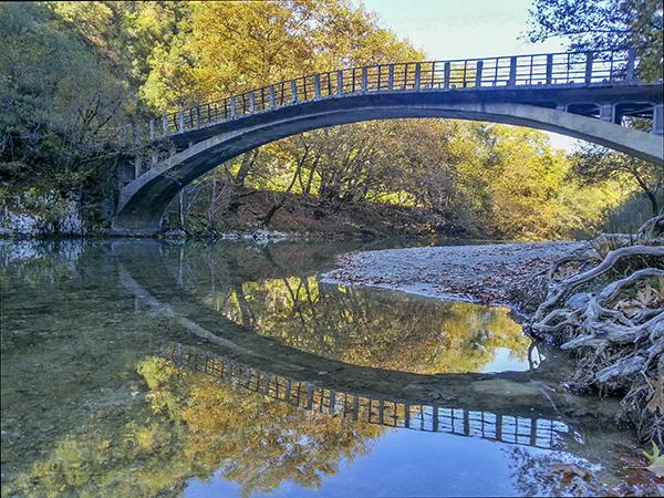 Bridge (Co-ordinates: 39.944566, 20.686979)