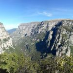 View from Vikos Gorge Lookout point